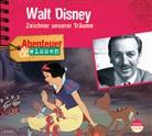 Ute Welteroth, Interviewpartner Thomas Stellmach, Regisseur:Theresia Singer - Walt Disney, 1 Audio-CD (Hörbuch)