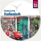 Ela Strieder, Gabriela Strieder - Reise Know-How Kauderwelsch AusspracheTrainer Italienisch, 1 Audio-CD (Hörbuch)