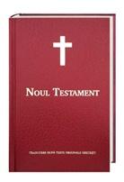Bibelausgaben: Neues Testament Rumänisch - Noul Testament, Traditionelle interkonfessionelle Übersetzung, Kunstleder rot
