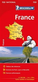 MICHELIN - France (booklet format) - Michelin National Map 723
