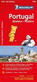 MICHELIN - Michelin Karte Portugal Madeira. Portugal, Madère