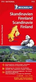 MICHELI, Michelin - Michelin Karte Skandinavien - Finnland. Scandinavie, Finland