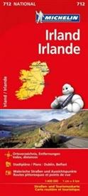Michelin - Michelin Karte Irland. Irlande