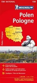 Michelin - Michelin Karte Polen. Pologne