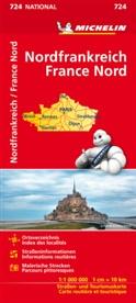 MICHELIN - Michelin Karte Nordfrankreich. France Nord