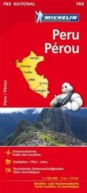 Michelin - Michelin Karte Peru. Pérou