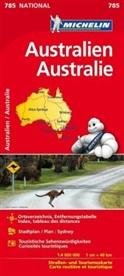 Michelin - Michelin Karte Australien. Australie