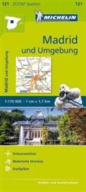 Michelin - Michelin Karte Madrid und Umgebung. Madrid et ses environs