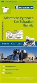 Michelin - Michelin Karte Atlantische Pyrenäen, San Sebastian, Biarritz. Pays Basque, Nord de la Navarre