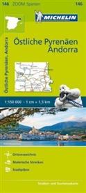Michelin - Michelin Östliche Pyrenäen. Pyrénées Orientales, Andorre