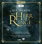 John Ronald Reuel Tolkien, Rufus Beck, Matthias Haase, Hans Peter Hallwachs, Manfred Steffen - Der Herr der Ringe, 2 Audio-CD, MP3 (Hörbuch)