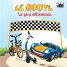 Kidkiddos Books, Inna Nusinsky, S. A. Publishing - Le ruote - La gara dell'amicizia: The Wheels -The Friendship Race (Italian Edition)