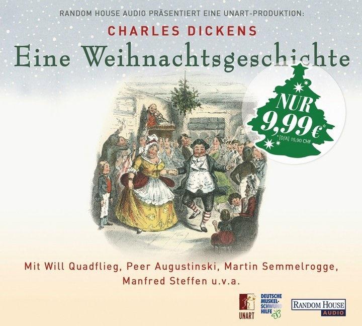 Charles Dickens, Peer Augustinski, Will Quadflieg, Martin Semmelrogge - Eine Weihnachtsgeschichte, 1 Audio-CD (Hörbuch) - Hörspiel