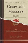 United States Department Of Agriculture - Crops and Markets, Vol. 11