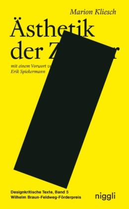 Marion Kliesch, Marion Alina Kliesch - Ästhetik der Zensur - Ausgezeichnet mit dem Wilhelm Braun-Feldweg-Förderpreis für designkritische Texte 2016 und dem Förderpreis für junge Buchgestaltung der Stiftung Buchkunst