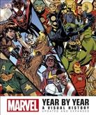 DK, Stan Lee, Stephen Wiacek - Marvel Year By Year