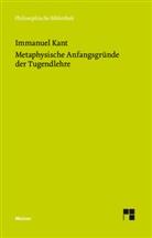 Immanuel Kant, Bern Ludwig, Bernd Ludwig - Metaphysische Anfangsgründe der Tugendlehre
