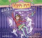 Laura Wood, Nana Spier - Poppy Pym und der Spuk in der Schulaula, 4 Audio-CDs (Hörbuch)