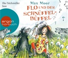 Dieter Moor, Max Moor, Ilka Teichmüller - Flo und der Schnüffel-Büffel, 3 Audio-CDs (Hörbuch)