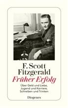 F Scott Fitzgerald, F. Scott Fitzgerald - Früher Erfolg