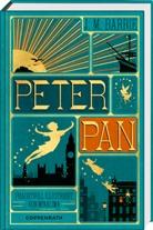 James M. Barrie, James Matthew Barrie, MinaLima, MinaLima Design - Peter Pan