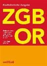 Christine Ammann, Ernst J. Schneiter - ZGB OR Kaufmännische Ausgabe
