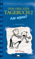 Jeff Kinney - Dem Greg säin Tagebuch - Ass eppes?. Gregs Tagebuch - Gibt's Probleme?, luxemburgisch