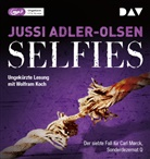 Jussi Adler-Olsen, Wolfram Koch - Selfies, 2 Audio-CD, (Hörbuch)