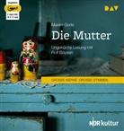Maxim Gorki, Rolf Boysen - Die Mutter, 2 Audio-CD, (Hörbuch)