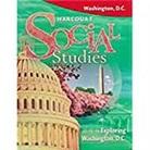 Hsp, Harcourt School Publishers - Harcourt Social Studies Washington D.C.: Student Edition Exploring Washington D.C. 2008
