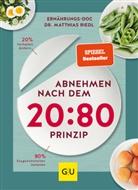 Dr. med. Matthias Riedl, Matthias Riedl, Matthias (Dr.) Riedl - Abnehmen nach dem 20:80-Prinzip