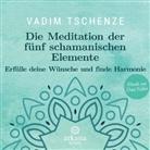 Dani Felber, Vadi Tschenze, Vadim Tschenze - Die Meditation der fünf schamanischen Elemente, 1 Audio-CD (Hörbuch)