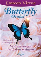 Virtue, Doreen Virtue - Butterfly-Orakel, Anleitungsbuch + Karten