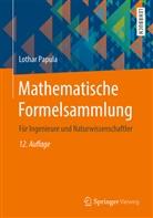Lothar Papula - Mathematische Formelsammlung