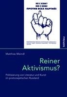 Matthias Meindl - Reiner Aktivismus?