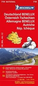 MICHELI - Michelin Karte Deutschland, Benelux, Österreich, Tschechien. Allemagne, Benelux, Autriche, Österreich, Rép. Tchèque