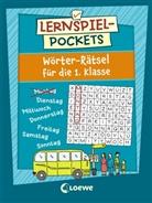 Corina Beurenmeister - Lernspiel-Pockets - Wörter-Rätsel für die 1. Klasse