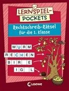 Corina Beurenmeister, Peter Nieländer - Lernspiel-Pockets - Rechtschreib-Rätsel für die 1. Klasse