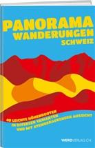 Brigitte Auf der Maur, Franz Auf der Maur, Brigitte auf der Maur - Panoramawanderungen Schweiz
