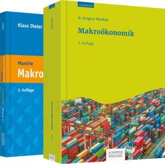 Klaus Diete John, Klaus Dieter John, Klaus-Dieter John, N Gregor Mankiw, N. Gregory Mankiw, Thomas Sauer - Paket Makroökonomik, 2 Bde. - Lehrbuch plus Arbeitsbuch