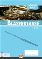 Klaus Ernst, Jens Holzinger, Manuel Jandl, Dominik Scheider, Dominik Schneider, Bernhard Sommer - Leitfaden Bläserklasse: 5. Klasse, Schülerheft - Flöte. Bd.1