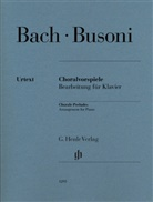 Johann Sebastian Bach, Ferruccio Busoni, Christian Schaper, Ullrich Scheideler - Busoni, Ferruccio - Choralvorspiele (Johann Sebastian Bach)