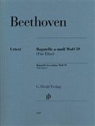 Ludwig van Beethoven, Joanna Cobb Biermann - Beethoven, Ludwig van - Bagatelle a-moll WoO 59 (Für Elise)