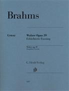 Johannes Brahms, Katrin Eich - Brahms, Johannes - Walzer op. 39 - Erleichterte Fassung