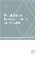 Tingxiao Lei - Definitheit im Deutschen und im Chinesischen