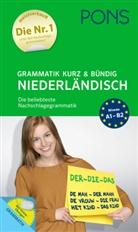 Gabriel-Kamming, Mirja Gabriel-Kamminga, Roodzant, Johanna Roodzant, PON GmbH, PONS GmbH - PONS Grammatik kurz und bündig Niederländisch