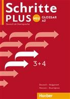 Huebe Verlag GmbH & Co KG - Schritte plus Neu - Deutsch als Fremdsprache - 3+4: Glossar Deutsch-Bulgarisch