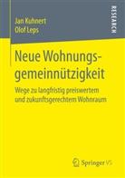 Ja Kuhnert, Jan Kuhnert, Olof Leps - Neue Wohnungsgemeinnützigkeit