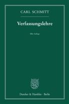 Carl Schmitt - Verfassungslehre