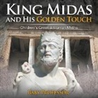Baby, Baby Professor - King Midas and His Golden Touch-Children's Greek & Roman Myths